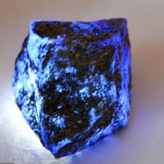 Natural Blue Sapphire Raw Rough - 40 x 38 x 29 mm - 317ct