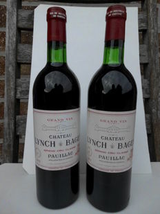 1979 Chateau Lynch Bages, Grand Cru Classé Pauillac - 2 Flessen