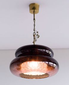 Carl Fagerlund voor Orrefors - hanglamp, model 'Bubblan'