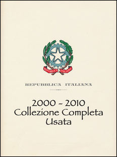 Italian Republic, 2000-2010 – Complete collector's album with Sheets and Booklets, including Montecitorio 2003 Booklet – Used.