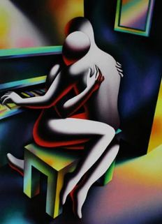 Mark Kostabi - Embracing desire