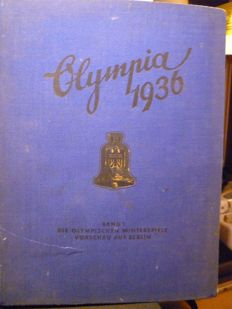 The Olympic Games - 1936 cigarette maker image service Hamburg - Bahrenfeld