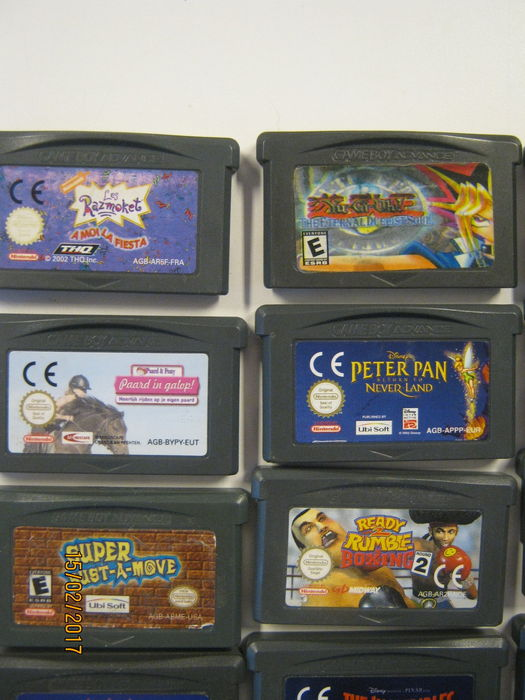 New Nintendo Gameboy advance boxed incl 36 gba games like mario and