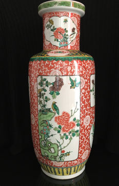 Large, pretty vase - China - end of 19th/beginning of 20th century.