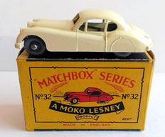 Moko Lesney matchbox - Scale 1/87 - Jaguar XK XK 140 No.32