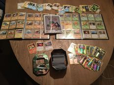 More then 400 Cards Pokémon with rare and common cards.
