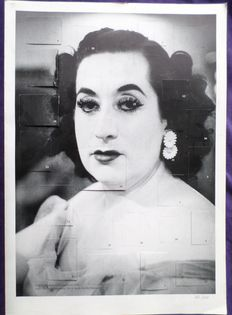 """Photography;  Christer Strömholm and Cecilia Peterson – Photo collage of """"The pale lady Barcelona 1959"""" – 2002"""