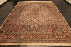 Nice, hand=knotted oriental rug Indo Tabriz 248 x 365 cm, made in India