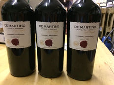 2007 De Martino, Cabernet Sauvignon Single Vinyard, 3 bottles Magnum, 1,5L, Limited Edition