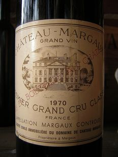 1970 Chateau Margaux, Premier Grand Cru Classé, 1 bottle.