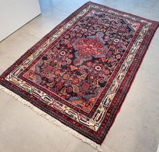 NO RESERVE, GREAT OPPORTUNITY: Beautiful, colourful Hamadan Persian carpet – 167 x 106 – with certificate
