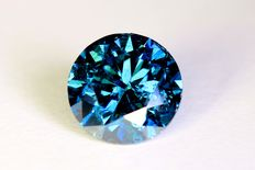 Blue diamond – 1.01 ct