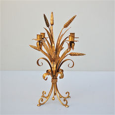 Unknown maker - wheat sheaf candlestick