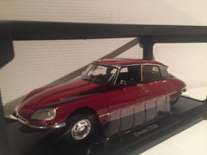 Norev – Scale 1/18 – Citroen DS23 Pallas 1973 Red