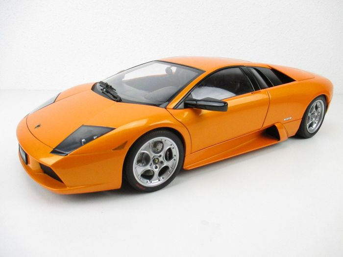 Autoart Scale 1 12 Lamborghini Murcielago Orange Catawiki