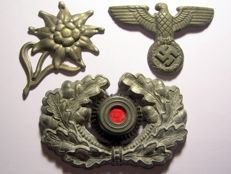 WW2 Set of Three Original German Badges