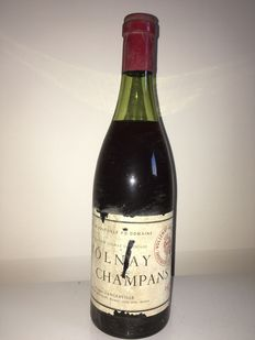 1971 Volnay 1er CRU Champans  'Marquis d'Angerville 1 bottle in total