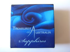 Australia – 1 Dollar 2007 'Treasures of Australia – Sapphires' 1 oz silver