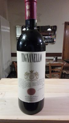 1988 Tignanello Antinori – 1 bottle x 0.75 l