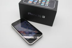 Apple iPhone 3GS 16GB black inc. charger, original box