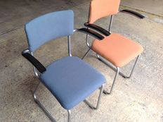 Gispen – lot of two chairs, model 213