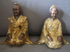 Twee heavy statues – Asia – late 20th century