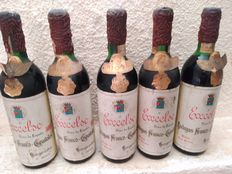 Excelso gran reserva 1959, Franco-Spanish Wineries, 5 bottles