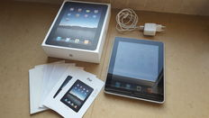 Apple iPad 1, 32GB - in box with charger, etc.