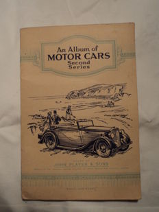 Original Album of Motor Cars -1930s