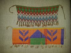 Two Unique sorts Beaded Cache Sexe Apron - KIRDI MATAKAM - Cameroon