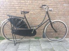 Original Union granny bike with tyre brake and a beautiful patina - Circa 1940