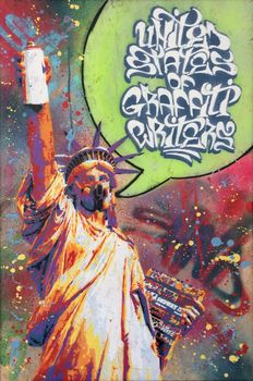 Sand (The old dirty vandal) - United States of Graffiti writers!