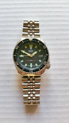 Seiko 7002-7000 Diver's watch, 42 mm, 07-1991
