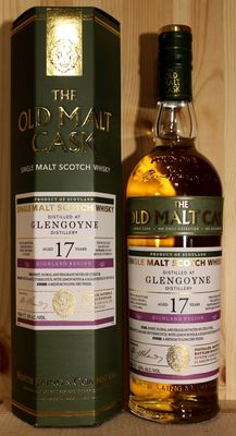 Glengoyne 17 years old (September 1997 - October 2014) Single Malt Scotch Whisky, 50%vol 70cl, Old Malt Cask