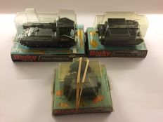 Dinky Toys kavel - Schaal 1/32-1/43-1/48 - Kavel met 155 mm Mobile Gun No. 654, Austin Para-Moke No.601 en Bren Gun Carrier No.622