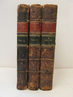 Thomas Blackwell - Memoirs of the court of Augustus - 3 volumes - 1760