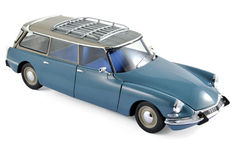Norev - Scale 1/18 - Citroën ID 19 Break 1967 - Monte Carlo blue