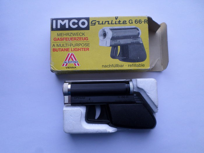 Four various Imco lighters, incl  Gunlite G66-R - Catawiki