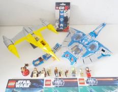 Star Wars - 9499 + 7877 - Gungan Sub + Naboo Starfighter + Watch Set, SW R2-D2