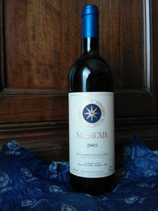 2003 SASSICAIA Bolgheri DOC – Tenuta San Guido – 1 bottle