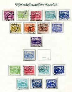 Czechoslovakia 1918/1939 - collection on 32 leaves.