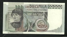 Italy - Lot of two rare banknotes - 10,000 lire 1981 - Special Substitutive Series (replacement) - ALFA BI.861 sp R3 and 1000 lire of 11/02/1949 R3