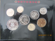 Australia – Year pack 1990, Cent up to Dollar