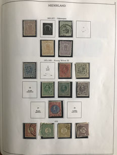 The Netherlands 1852/1969 – Collection in Unie album