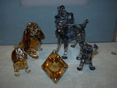 Swarovski - Disney Lady and the Tramp & plaquette