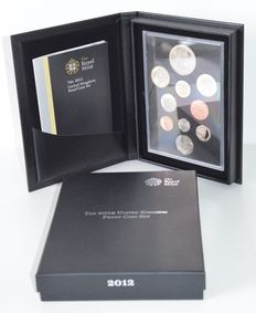 United Kingdom – Year pack (proof) 2012