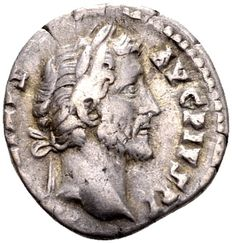 Roman Empire – Silver Denarius of emperor Antoninus Pius (138-161 AD), minted in Rome