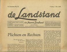 Weekbladen; Lot with 13 different national-socialist weekly newspapers - 1940/1944