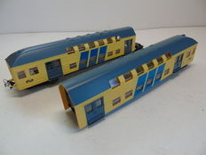 Piko H0 - 5/0763/000 – Double-decker carriages of the NS