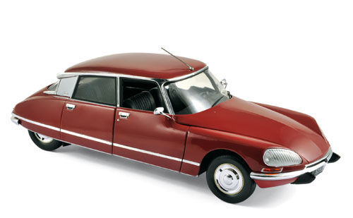 Norev - Scale 1/18 - Citroen DS23 1973 - Colour red Massena